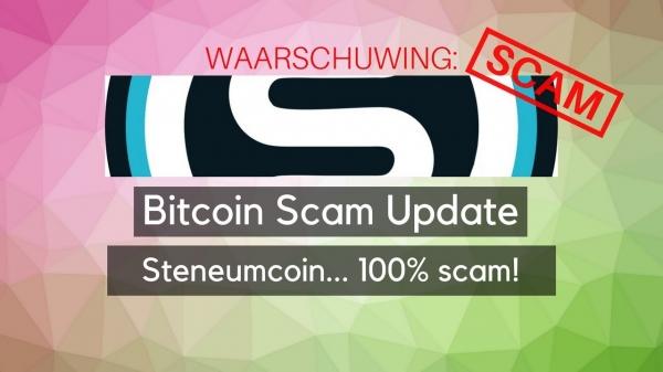 Bitcoin Scam Update: Steneum coin... met kantoor in de jungle!